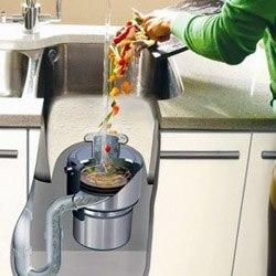 Установка измельчителя пищевых отходов в Миассе, подключение измельчителя пищевых отходов в г.Миасс
